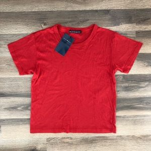 Brandy Melville Plain Red T Shirt 🌹♥️